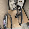 初めての自転車修理