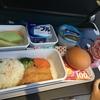 三世代で香港旅行(その2) 機内食