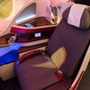 QR812 DOH→HND Business  QatarのB787ビジネスで東京へ
