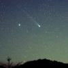 昇るラブジョイ彗星