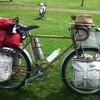 趣味の自転車(輪行キャンピング)
