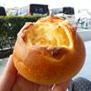 3種のチーズがゴロッと入ったパン@鹿児島市西谷山