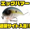 【ブラッディサムルアー】大型ボディのウェイクベイト「エッグハマー」通販サイト入荷!