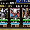 level.1121【ウェイト120】第151回闘技場ランキングバトル4日目