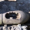 戦死者の墓と 砲弾の香炉(横浜市港南区)