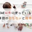DWE以外に使っている英語のおもちゃと絵本
