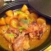 タジンで豚スペアリブのスカッとレモンサイダー煮
