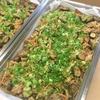 豚肉と新生姜 茄子の味噌炒め