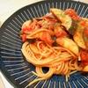 ピリ辛!!茄子とベーコンのパスタアラビアータの作り方/レシピ