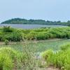 ヒロセメガソーラー上越の調整池(仮称)(新潟県上越)