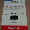 便利なUSBメモリー。 SanDisk「ウルトラ デュアル USB ドライブ 3.0 SDDD2-032G」