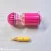 短くなった色鉛筆は鉛筆削り「かるスピン」で削ろう!