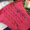 藤井四段、惜しくも負けましたね。久々に編み物。