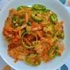 【業務スーパーおすすめ商品】トマトソースで簡単豚バラナポリタンの作り方。スゴイ目力。