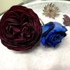 どっちが好み?2つの方法でバラをドライフラワーにしてみた時の比較。