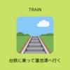 高雄駅から左営駅まで台鉄に乗って蓮池潭へ行く