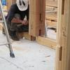 我が家の仕様(構造・工法編)。職人の技で極太の無垢の木を組み上げる伝統工法の迫力。