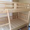 2LDKの賃貸住宅に二段ベッドを投入