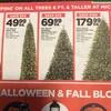 アメリカでクリスマスツリーを購入しました