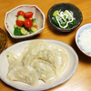 セロリと鶏挽肉のサッパリ水餃子