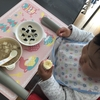 歯磨きいやだ  1歳7ヵ月の離乳食★生後592日目
