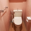塗り壁はじめてセット 漆喰16Kgと塗り壁道具7点セットでトイレの壁 before after