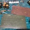 【ジオラマの勉強】プラ板をつかってレンガ畳を作ってみる