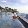 シンガポール旅⑱ ION Orchardとマリーナベイサンズの天空のプール【船の形のプール!】