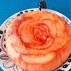 簡単薔薇りんごケーキの炊飯器とホットケーキミックスレシピ