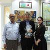 【ウズベキスタンニュース】ジャリル・スルタノフ様(日本人抑留者資料館館長)と菅野怜子様(タシケント国立東洋学大学准教授)が叙勲を受章されました