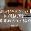 【おすすめ白河カフェ】白河駅周辺、ぜひ訪問しておきたいカフェを5つ紹介するよ!