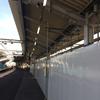 おおさか東線北区間工事鴫野駅部分の状況 2018-05-05