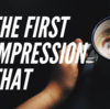 【第一印象は】The first impression that  の表現!