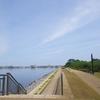 湊山公園と米子港(鳥取県米子市)