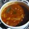 冬の日替わりスープ