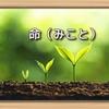 斉藤一人さん 命(みこと)