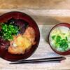 鰹とサーモンの海鮮丼