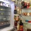 落ち着かない冷蔵庫。
