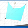 フリーハンドで描いた図形をポリゴン分割する