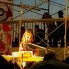 『青い闇をまっさかさまにおちてゆく流れ星を知っている(blue darkness)』 原田郁子+青葉市子+さや(テニスコーツ) at 全感覚祭
