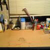 作業机公開・・・汚いな・・・