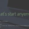anyenvを使ってNode.jsのバージョン管理をすることにした