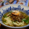台南   度小月担仔麺です