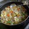 幸運な病のレシピ( 474 )朝:肉ジャが、とら豆、漬物