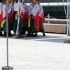 総踊り 黒田武士:関門よさこい大会2017(門司港、親水公園)