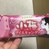 ロッテ 小梅アイスキャンディ  食べてみました