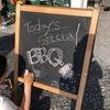 たまには息抜き#リラックス#実家#庭 で #BBQ からの#スーパーフード#キヌアサラダ