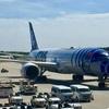 【ANA】NH231 成田>ブリュッセル スターウォーズ仕様787-9にビンゴ
