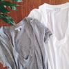 驚きの着痩せ効果、ジェームスパースのVネックTシャツ