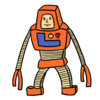 ロボット のイラスト